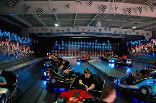 Adventureland's Formula One Bumper Cars ride is $6,