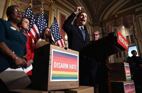 The U.S. Senate failed to pass four gun-control