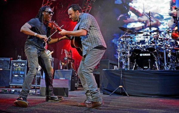 The Dave Matthews Band performs at the Nikon