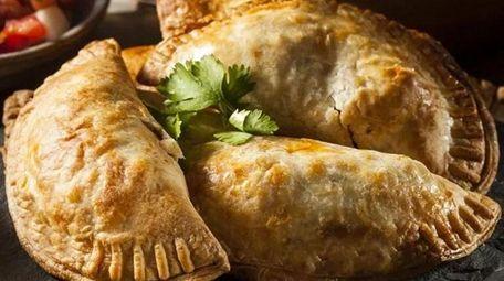 The Cuban serves five varieties of empanadas.