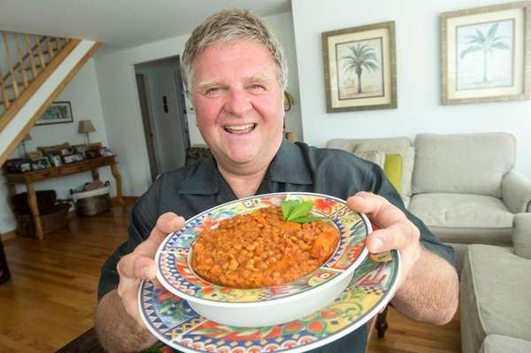 Edward Wengler discovered his peach lentils recipe by