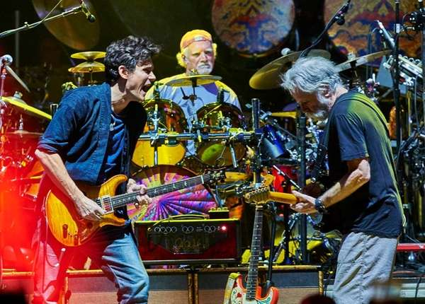 Dead & Company, with John Mayer, left, Bill
