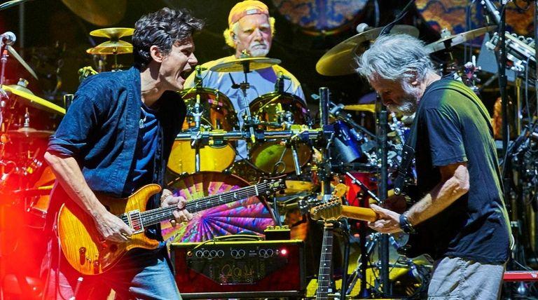 Dead & Company, with John Mayer, left, Bill