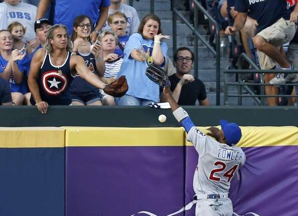 Centerfielder Dexter Fowler of the Chicago Cubs just