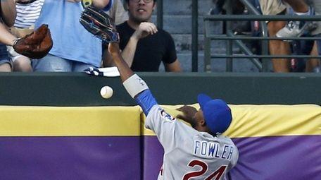 Centerfielder Dexter Fowler of the Chicago Cubs just