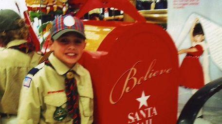 Kidsday reporter and Boy Scout Joe Little has