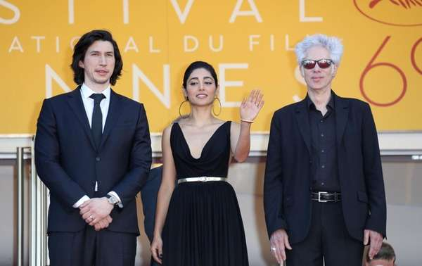 Adam Driver, left, and Golshifteh Farahani star in