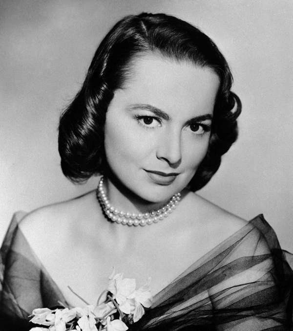 Two-time Oscar-winning actress Olivia de Havilland, shown in