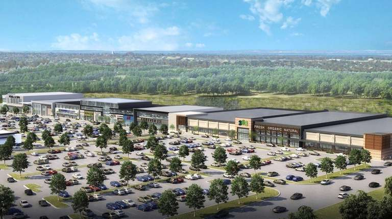 Rendering for a proposed $80 million, 390,000-square-foot commercial