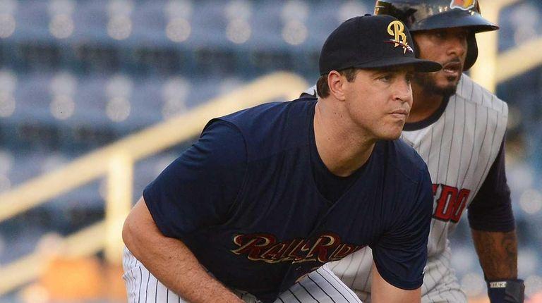 New York Yankees first baseman Mark Teixeira and