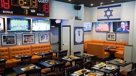 Courtside Grill, offering a full kosher menu and