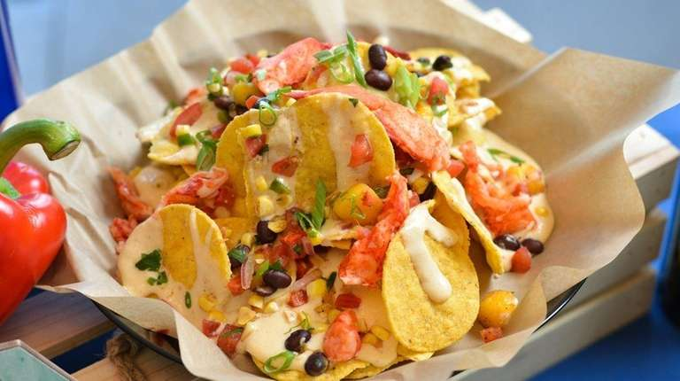 Lobster Nachos, one of the new food offerings