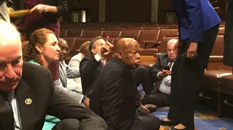 Rep. John Yarmuth (D-Ky.), shows Democrat members of