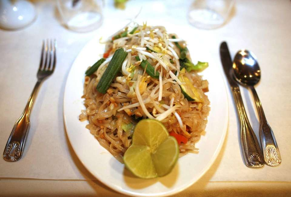 Pad Thai is served at New Chilli and