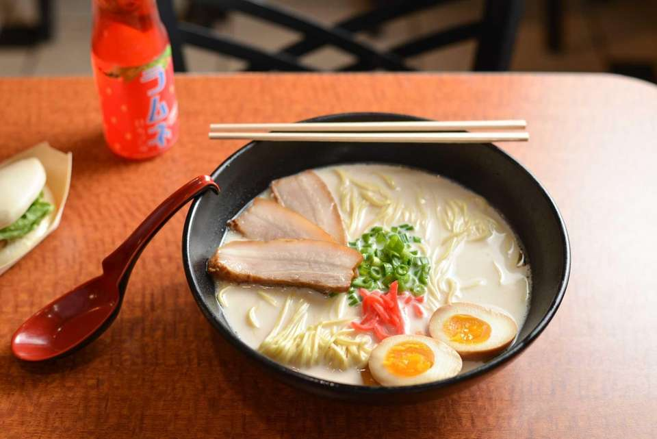 The Slurp Classic ramen with slow cooked chashu