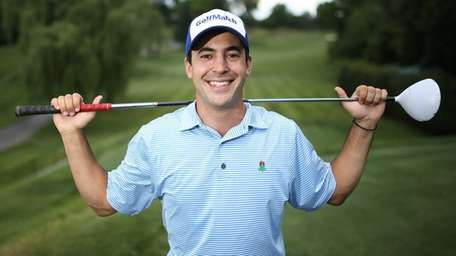 Peter Kratsios, founder and CEO of GolfMatch, poses