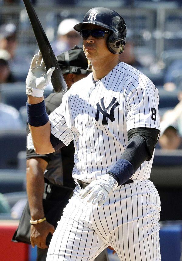 New York Yankees designated hitter Alex Rodriguez (13)