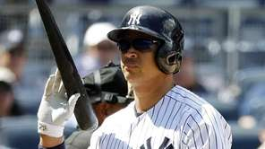 New York Yankees designated hitter Alex Rodriguez (13)