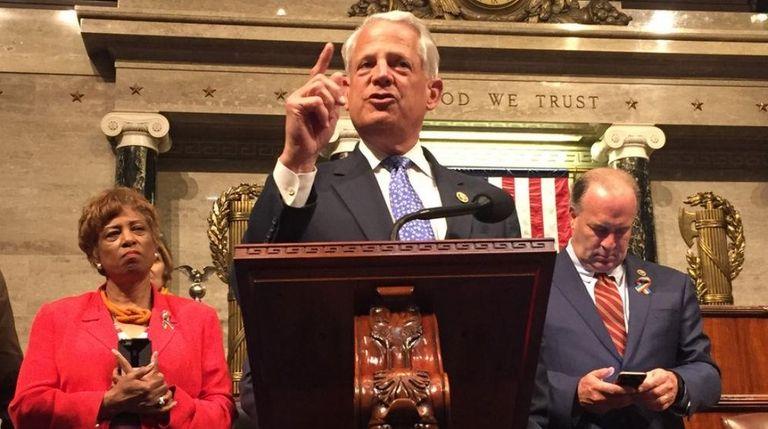 Rep. Steve Israel speaks on Wednesday, June 22,