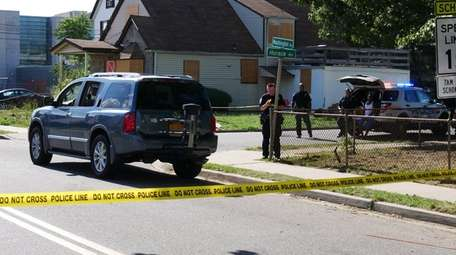 Nassau County police investigate after a man