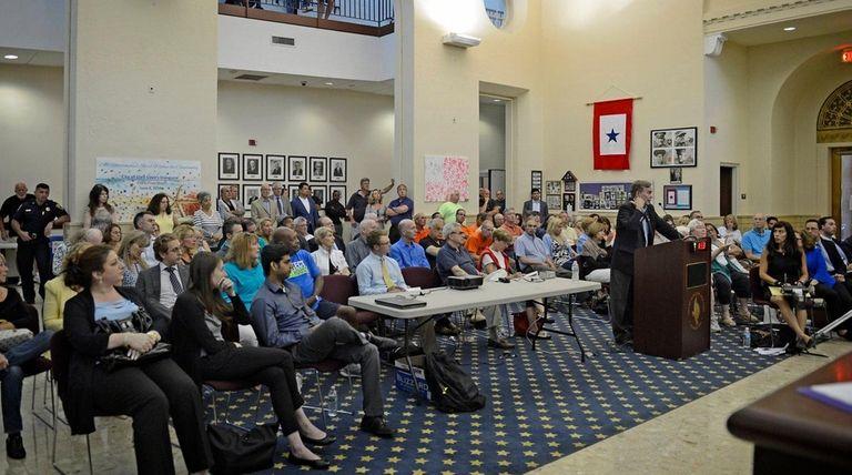 The Glen Cove Industrial Development Agency's public hearing