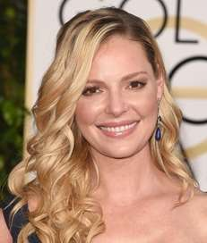Actress Katherine Heigl is expecting her first biological