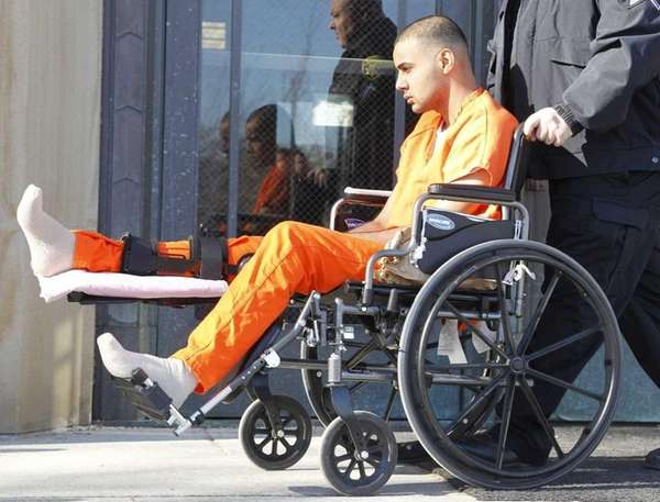 Bilal Hassan leaves Nassau County Court in Mineola