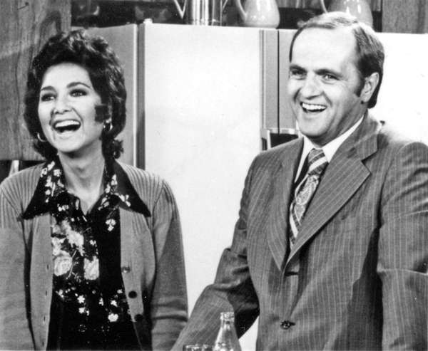 Suzanne Pleshette and Bob Newhart in