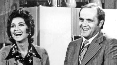 Suzanne Pleshette and Bob Newhart in