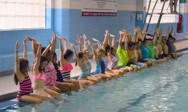 The World's Largest Swimming Lesson will take place