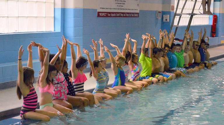 Ymca of long island joins the worlds largest swimming - Longest swimming pool in the world ...
