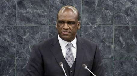 Ambassador John Ashe, of Antigua and Barbuda, the