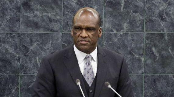 Ambassador John Ashe, of Antigua and Barbuda, the