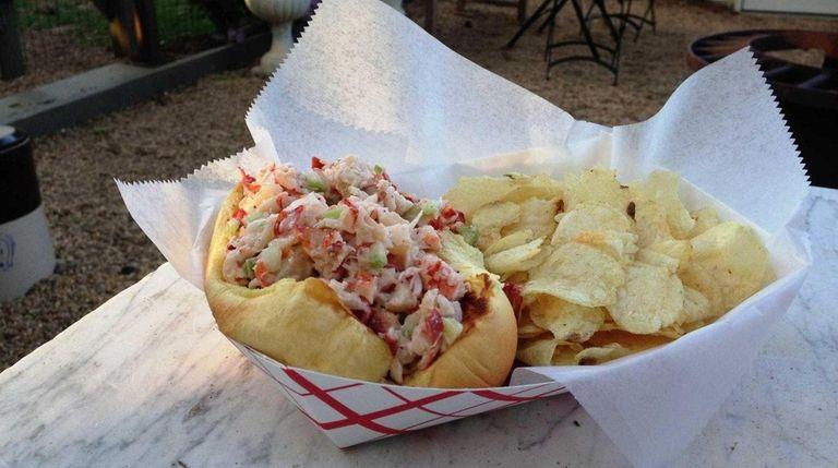 Kerber's Farm in Huntington serves lobster rolls in