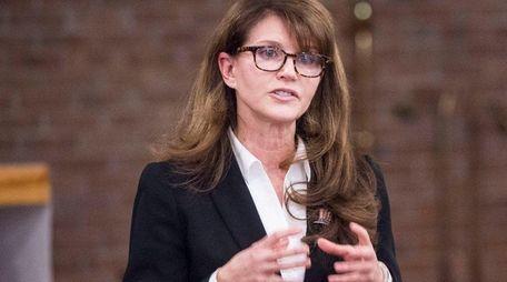 Anna Throne-Holst, Democratic candidate for Congressman Lee Zeldin's