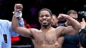 Former IBF welterweight champion Shawn Porter, pictured,