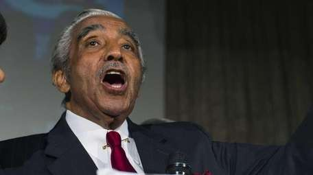 Rep. Charles Rangel is pictured in a June