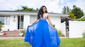 Newsday's Project Prom winner Nabila Alim, 18, reveals