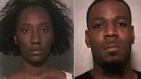 From left, Shaquisa Baker, 26, of Far Rockaway;