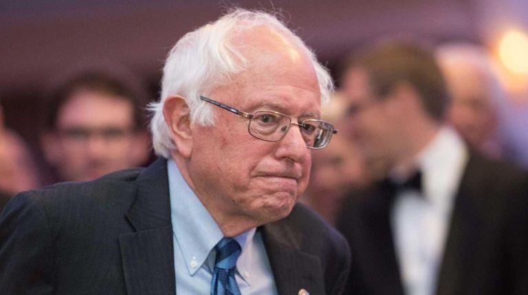 Sen. Bernie Sanders said he will vote for