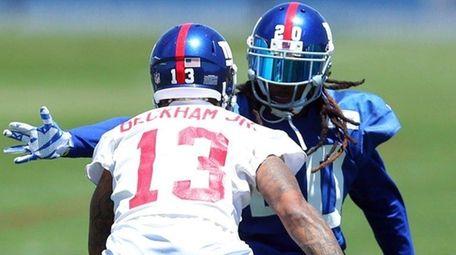 New York Giants cornerback Janoris Jenkins defends Odell