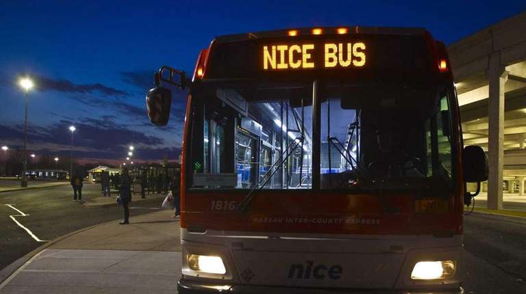 Four of 11 bus routes in Nassau County