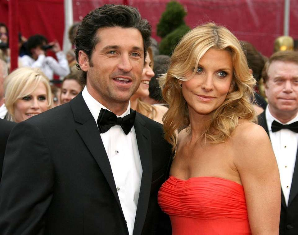 Patrick Dempsey and his wife, makeup artist and