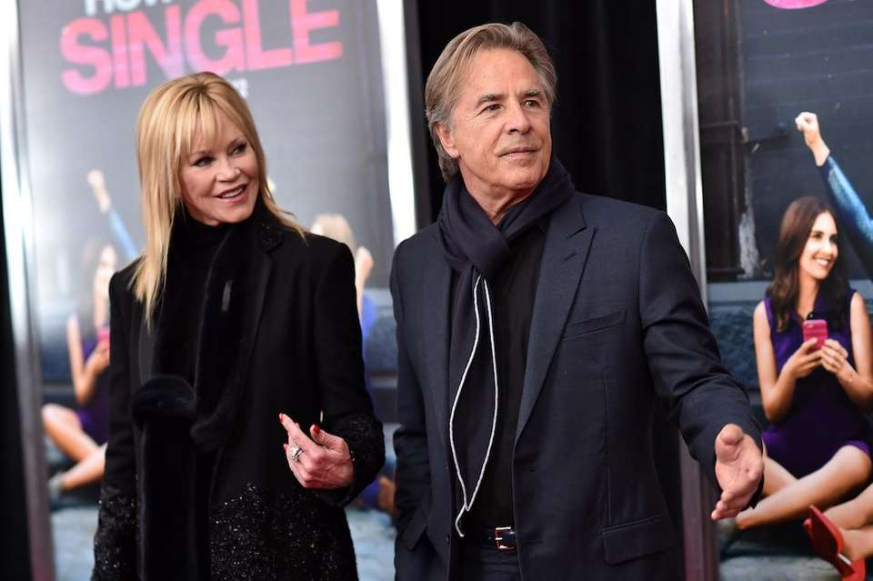 Melanie Griffith began dating 22-year-old actor Don Johnson