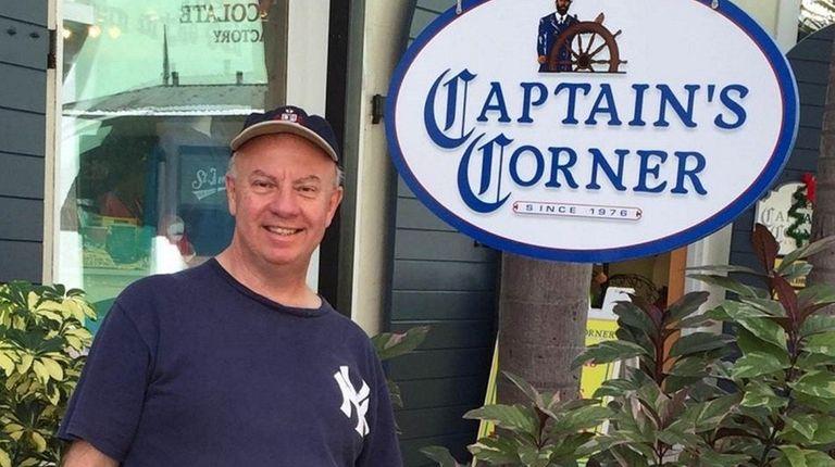 Retiree Steve Falletta of Eastport now enjoys