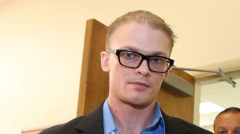 Michael Bantel of Massapequa is sentenced Friday, June
