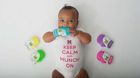 The Munch Mitt protects little hands from excess