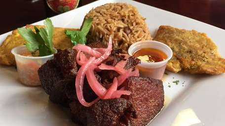 Griot -- fried cubes of pork -- is