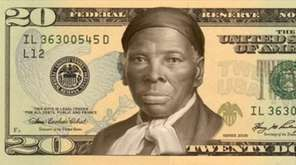 A mockup showing Harriet Tubman on the $20