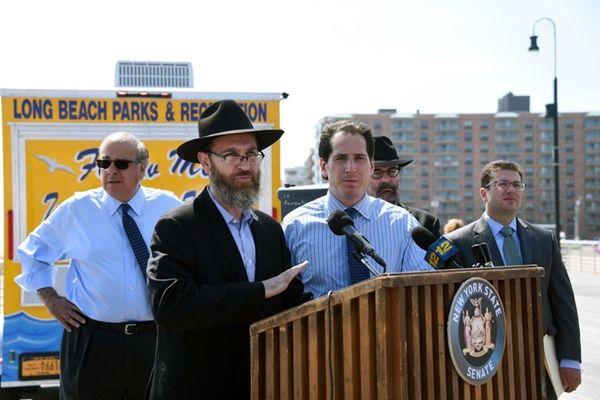 Rabbi Eli Goodman of Chabad of the Beaches,